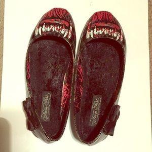 Iron Fist Werewolf Wolf Goth Punk Rockabilly Shoes